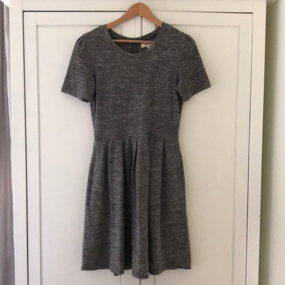 Madewell Dresses & Skirts - Madewell Grey Marl Dress / Perfect for fall!